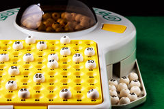 Gioco di bingo Immagine Stock