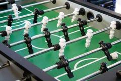 Gioco di calcio di calcio-balilla di calcio-balilla, aka estrattore a scatto fotografie stock