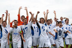 Gioco di calcio di Brescia - di Luneburg Fotografie Stock Libere da Diritti