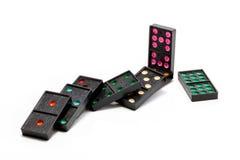 Gioco di domino Fotografie Stock Libere da Diritti