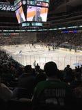 Gioco di hockey Fotografia Stock