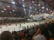Gioco di hockey di dashers di Danville fotografia stock