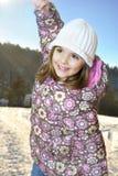 Gioco di inverno Fotografia Stock