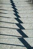 Gioco di ombra sui punti Fotografia Stock