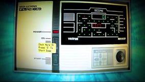 Gioco di Pacman stock footage