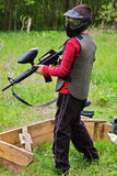 Gioco di paintball Immagine Stock