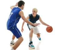 Gioco di pallacanestro immagini stock