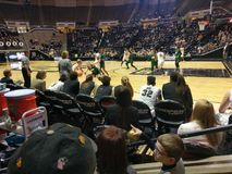 Gioco di pallacanestro del ` s delle donne di Purdue con l'università dell'Ohio fotografia stock libera da diritti