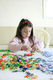 Gioco di puzzle fotografia stock libera da diritti
