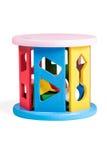 Gioco di puzzle dei bambini Fotografia Stock Libera da Diritti