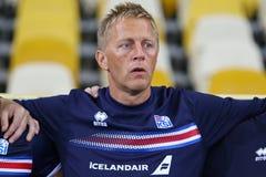 Gioco di qualificazione Ucraina v Islanda della coppa del Mondo 2018 della FIFA Immagini Stock Libere da Diritti