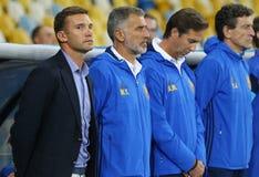 Gioco di qualificazione Ucraina v Islanda della coppa del Mondo 2018 della FIFA Fotografie Stock Libere da Diritti