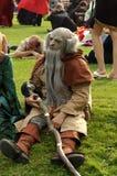 Gioco di ruolo dell'elfo Fotografia Stock