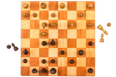 Gioco di scacchi Fotografia Stock Libera da Diritti