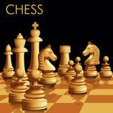Gioco di scacchi Immagine Stock