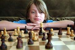 Gioco di scacchi Immagini Stock