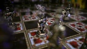 Gioco di scacchi stock footage
