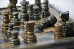 Gioco di scacchi più Fotografia Stock
