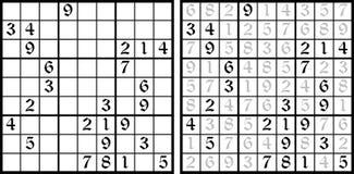 Gioco di Sudoku di vettore Fotografia Stock Libera da Diritti