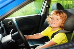 Gioco felice da essere un driver Fotografia Stock Libera da Diritti