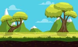 Gioco Forest Background Fotografia Stock Libera da Diritti