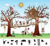 Gioco per i bambini illustrazione vettoriale