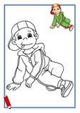 Gioco, piccolo ballerino 2 royalty illustrazione gratis
