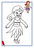 Gioco, piccolo ballerino 3 Fotografia Stock