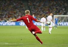 Gioco Quarto-finale Inghilterra v Italia dell'EURO 2012 dell'UEFA fotografia stock libera da diritti