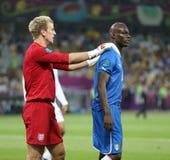 Gioco Quarto-finale Inghilterra v Italia dell'EURO 2012 dell'UEFA fotografia stock