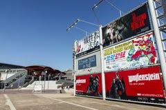 Gioco teletrasmesso 2013 di Tokyo Fotografia Stock