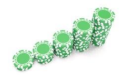 Gioco verde illustrazione di stock