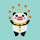 Giocoliere del panda Fotografia Stock Libera da Diritti