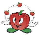 Giocoliere Pepper Immagine Stock