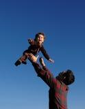 Gioia del bambino Fotografie Stock