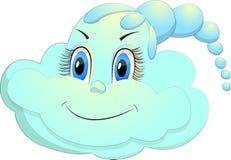 Gioia della nuvola Immagini Stock