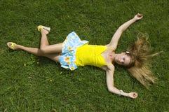 Gioia di estate Immagini Stock Libere da Diritti
