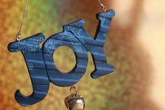 Gioia di legno dell'ornamento con il segnalatore acustico Fotografia Stock Libera da Diritti