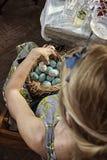 Gioia di Pasqua Fotografia Stock Libera da Diritti