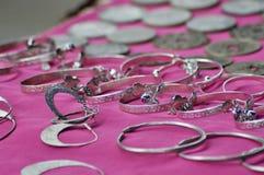Gioielli, accessori dei gioielli Fotografia Stock Libera da Diritti