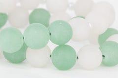 Gioielli casalinghi della perla Fotografia Stock