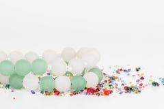 Gioielli casalinghi della perla Immagini Stock Libere da Diritti