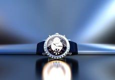Gioielli costosi dell'orologio Immagini Stock