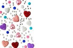 Gioielli, cristalli di rocca, Immagine Stock