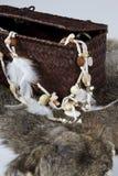 Gioielli del nativo americano Fotografia Stock