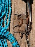 Gioielli del nativo americano Fotografia Stock Libera da Diritti