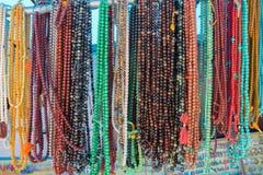 Gioielli del tibetano del rosario delle perle Immagini Stock Libere da Diritti