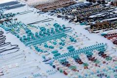 Gioielli del turchese fotografie stock libere da diritti