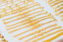 Gioielli dell'oro Fotografia Stock