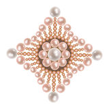 Gioielli della perla Fotografie Stock Libere da Diritti